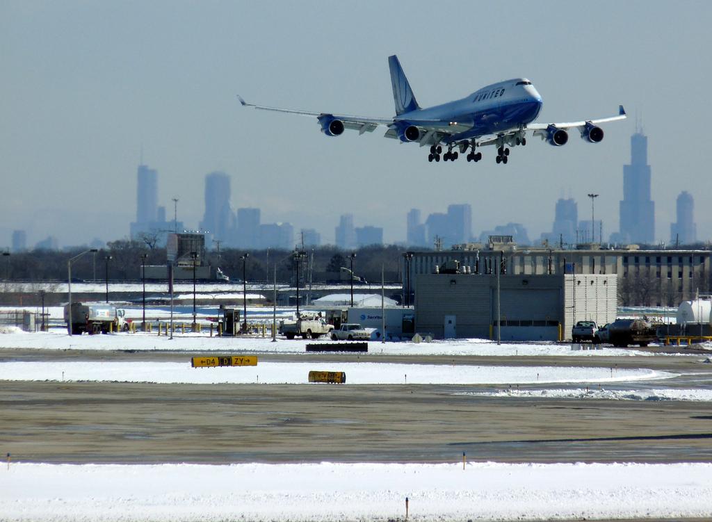 Chicagowskie lotniska mają problemy z punktualnością