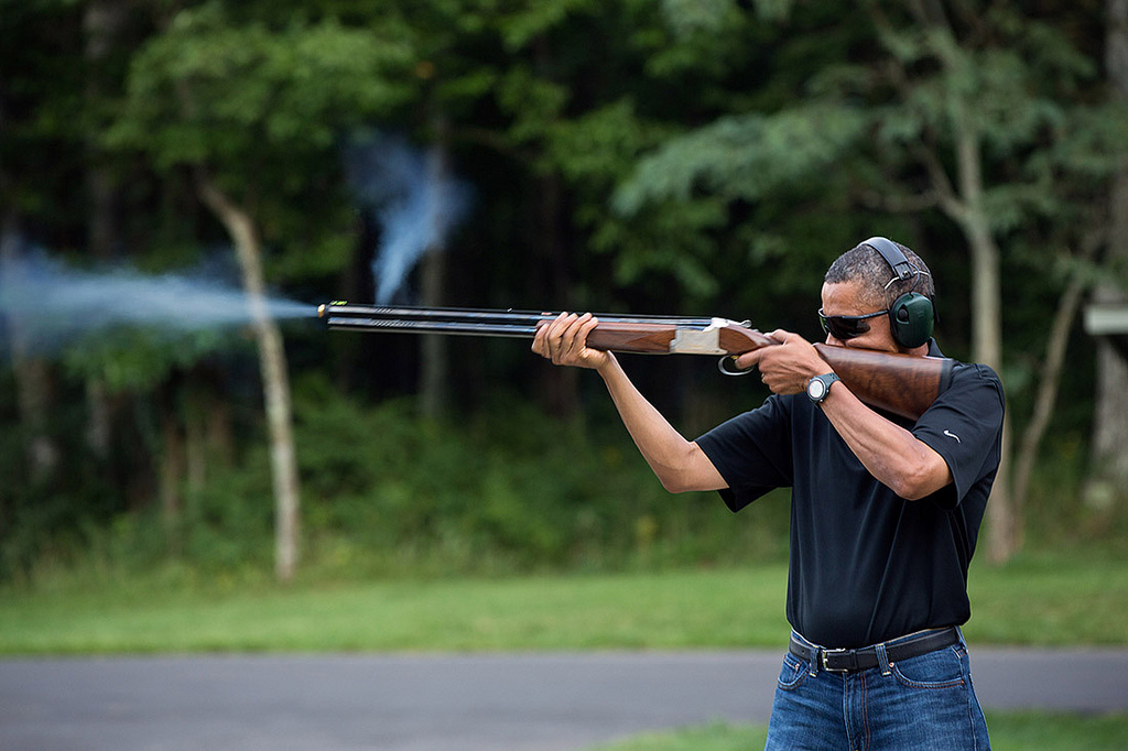 Obama o dostępie do broni