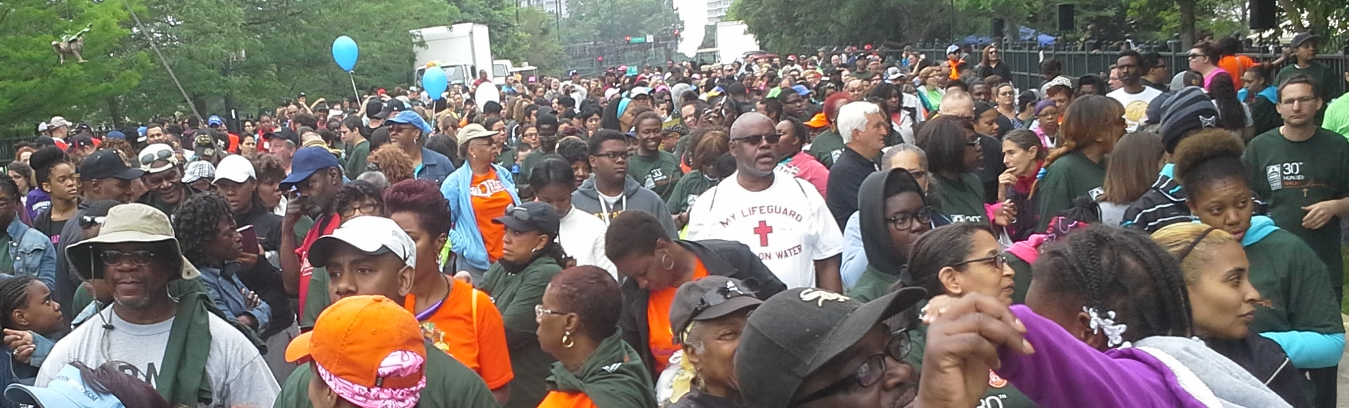15,000 Participants Attended the Hunger Walk