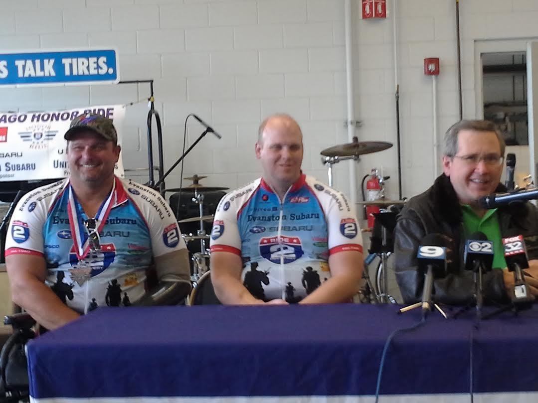 Helping Veterans. Chicago Honor Ride & Run