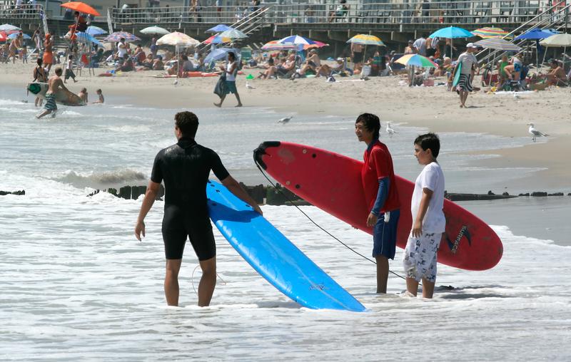 Rockaway Beach została uznana najlepszą plażą w Nowym Jorku