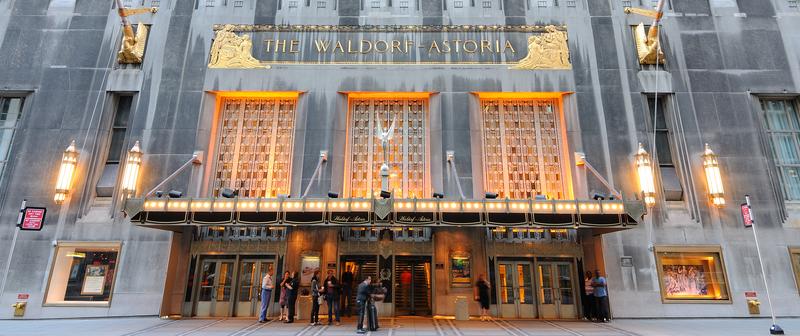 Weselny koszmar w hotelu Waldorf-Astoria na Manhattanie