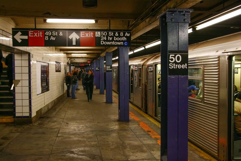 Więcej policji w nowojorskim metrze