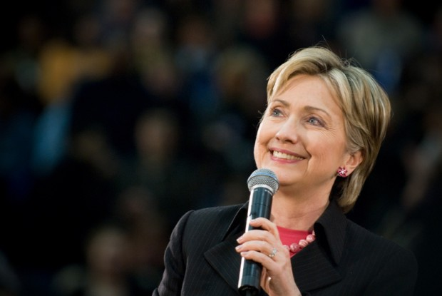 Hillary Clinton na Roosevelt Island