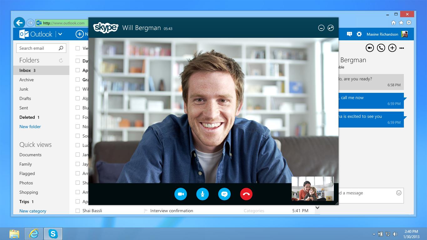 Skype Web teraz bezpośrednio z przeglądarki
