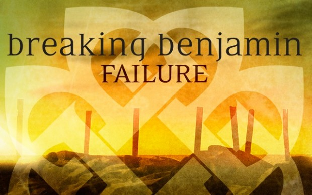 "Singiel grupy BREAKING BENJAMIN ""Failure"" , # 1 magazynu Billboard"