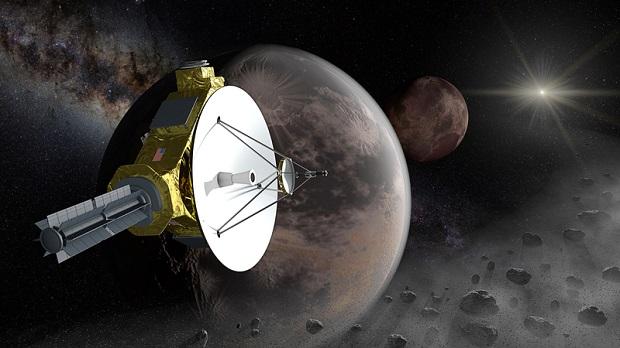 New Horizons dolatuje do Plutona