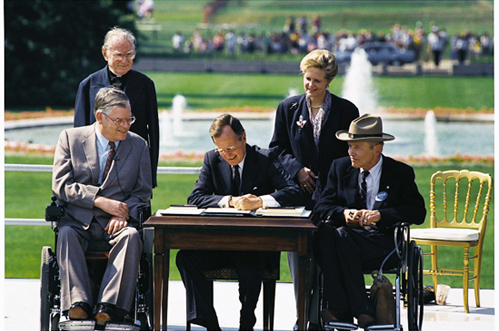25th Anniversary of the Americans with Disabilities Act (ADA),