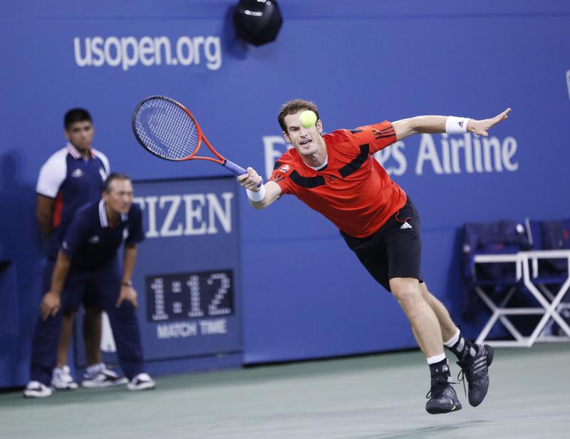 Tenis – US Open: Murray odpadł z turnieju; Federer odporny na atomowe serwy Isnera