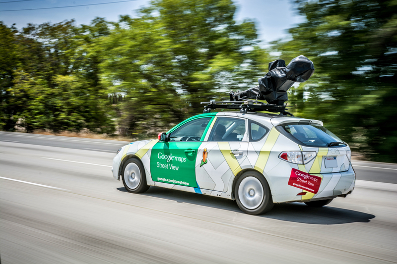 Google Street View wchodzi do Mongolii
