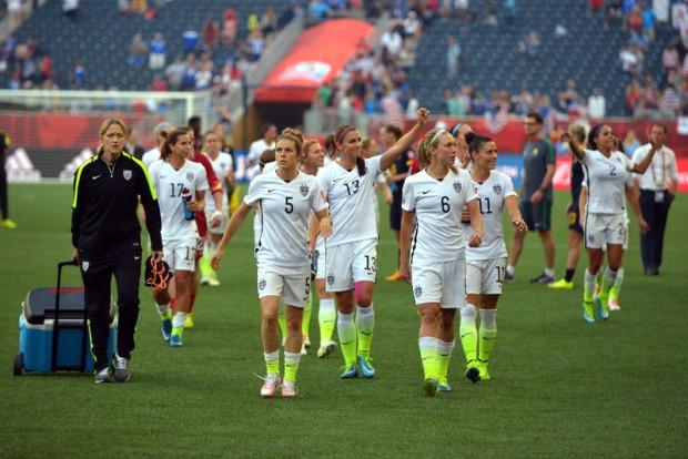 Japonia w finale Mistrzostw Świata w piłce nożnej kobiet po wygranej 2-1 z Anglią.