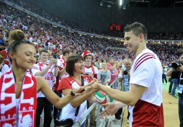 LŚ siatkarzy : Polska : USA 3 : 2