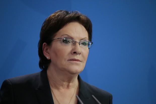 Premier Ewa Kopacz przekonywała senatorów do in vitro