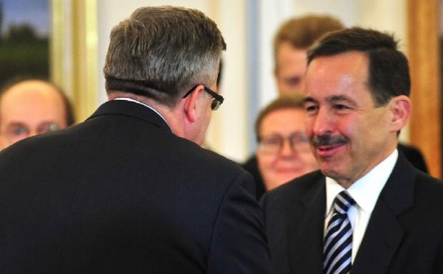 Ambasador USA Stephen Mull odznaczony Krzyżem Komandorskim z Gwiazdą Orderu Odrodzenia Polski