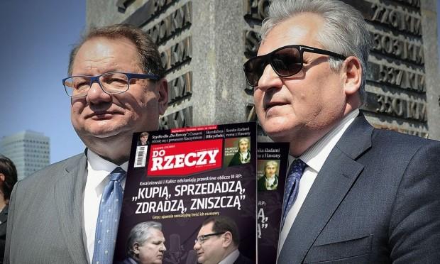 """Tygodnik """"Do Rzeczy"""" publikuje zapis podsłuchu spotkania Aleksandra Kwaśniewskiego i Ryszarda Kalisza"""