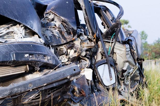 Tragiczny wypadek w Brdowie , zginęło pięć osób