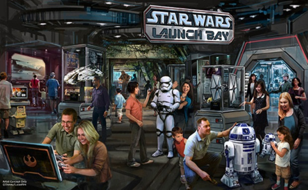 """Disneyland powiększy się o strefę """"Gwiezdnych Wojen"""""""