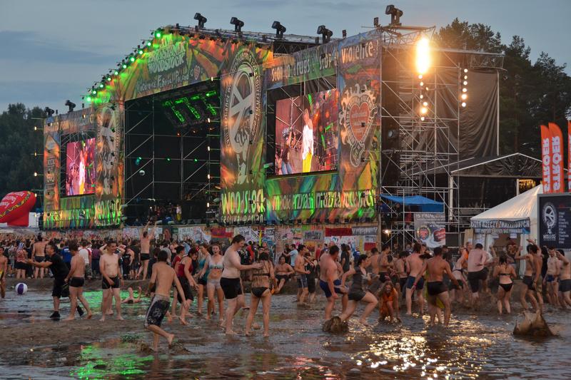 Polska – Sprzątanie po Przystanku Woodstock