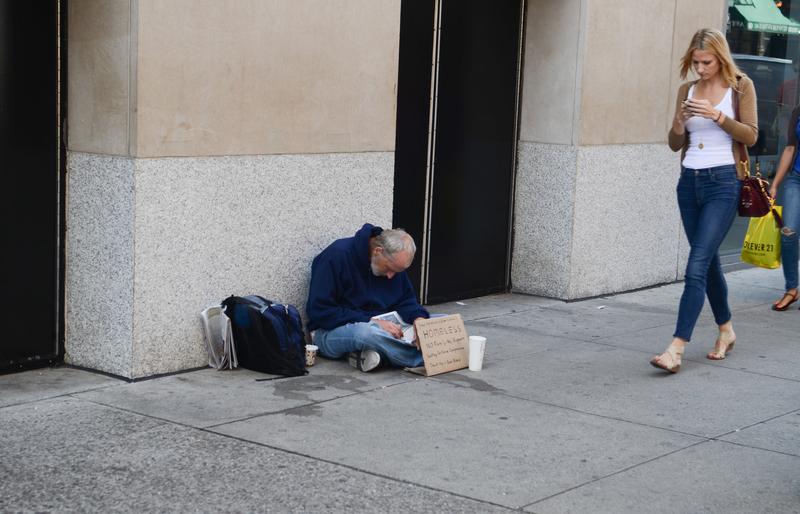 Bezdomność w Seattle i okolicach to problem nadzwyczayjny
