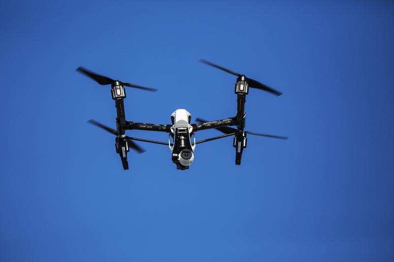 Ktoś latał dronem przy diabelskim młynie w Seattle
