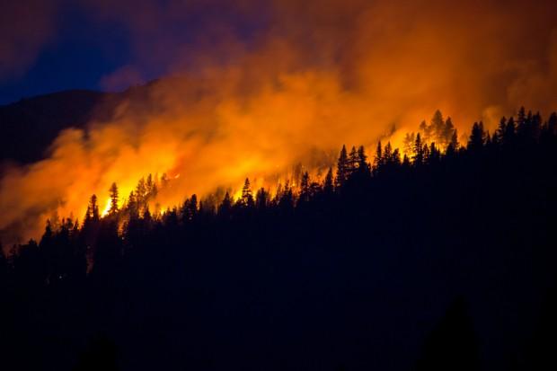 Pożary pustoszą obszar wschodniej Syberii