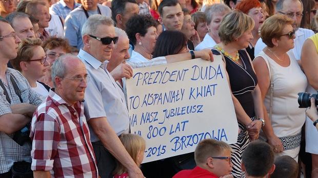 Andrzej Duda w Dąbrowie Tarnowskiej