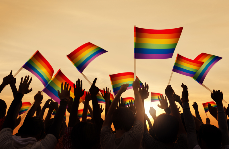 Tłumy na paradzie równości w Seattle. Były też protesty