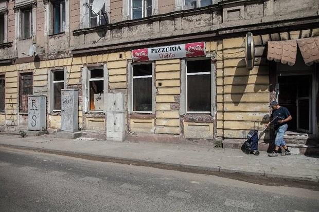 Groźny pożar w pizzerii w Łodzi