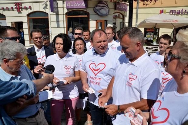 Platforma Obywatelska rozpoczęła kampanię reklamową w lubelskiem