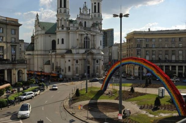 Czy na Kaponierze w Poznaniu stanie tęcza?