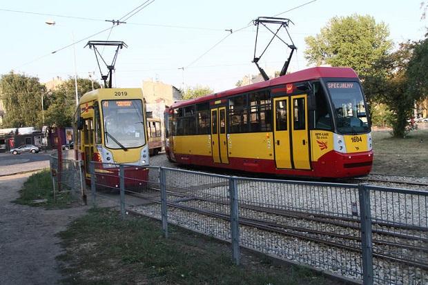 Mężczyzna zmarł w tramwaju z gorąca