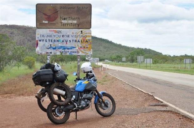 Niezwykła podróż z Australii do Piotrkowa … motocyklem