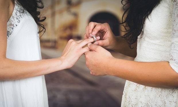 Historyczny ślub lesbijek w Michigan