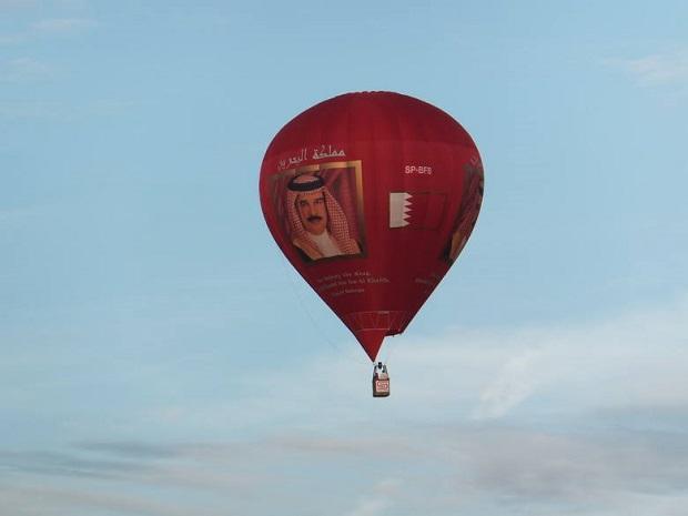 Na ogródku przed domem w Massachusetts wylądował balon