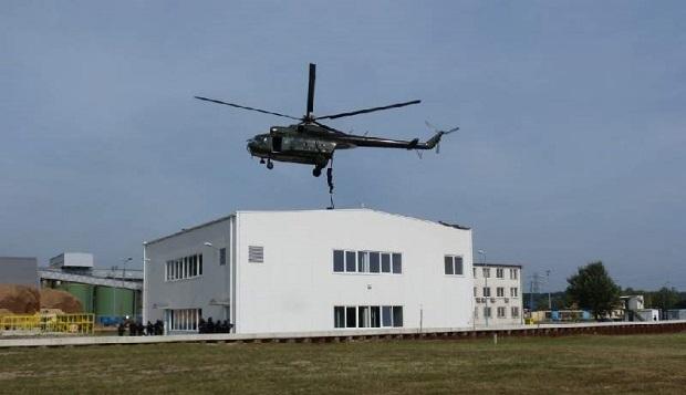 Świętokrzyskie: Antyterroryści ćwiczyli na terenie Elektrowni w Połańcu.