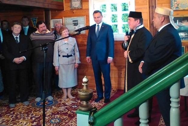 Andrzej Duda na Podlasiu. Wizyta Prezydenta RP w Bohonikach