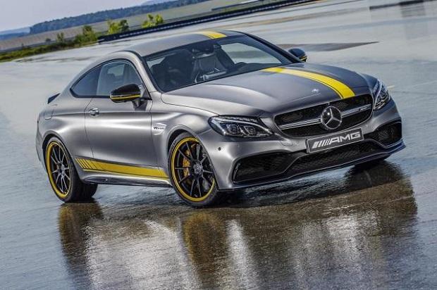 Poznaj Mercedesa -AMG C63 Coupe Edition 1. Specjana edycja na start