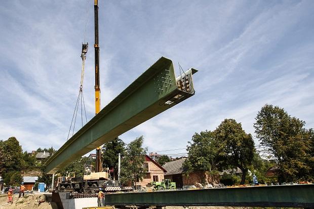 Pierwszy w Polsce most kompozytowy powstaje na Podkarpaciu