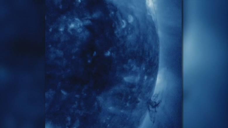 Tornado na słońcu? Zobacz, co zarejestrowała satelita NASA