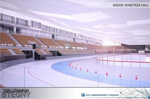 Warszawa: Tor Stegny do remontu. Łyżwiarze będą trenować w profesjonalnych warunkach