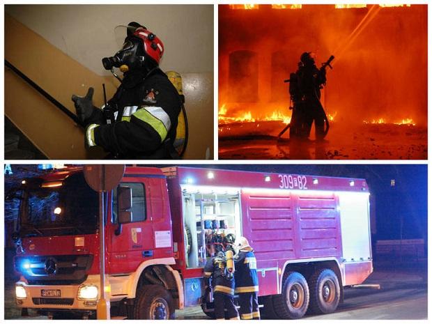 Pożar w Starym Dworze. Z ogniem walczyło 20 zastępów straży