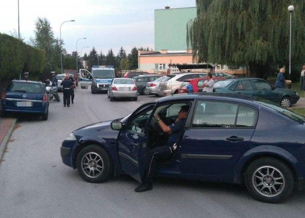 Policyjny pościg w Tarnobrzegu za pijanym kierowcą. Padły strzały!