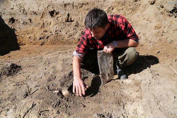 W Białymstoku IPN natrafił na szkielet dziecka
