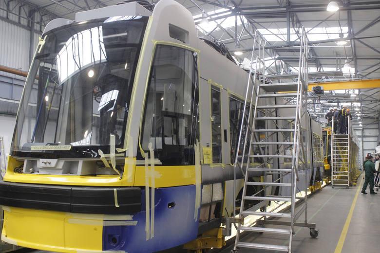 Pojechali budować tramwaje