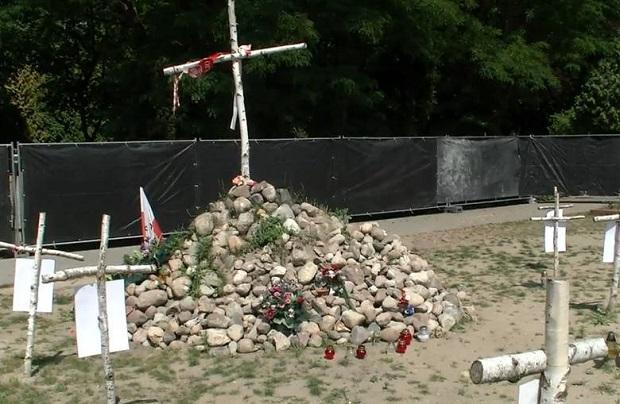 Pogrzeb Niezłomnych na Powązkach