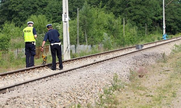 Śmiertelne potrącenie przez pociąg w Zdunowie