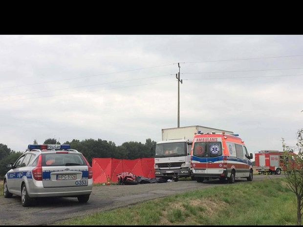 Dolnośląskie: Śmiertelny wypadek pod Strzegomiem