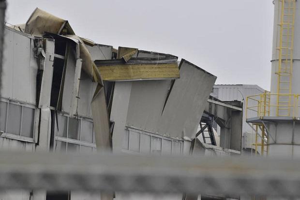 Potężna eksplozja pieca w zakładzie Fenix Metals w Tarnobrzegu