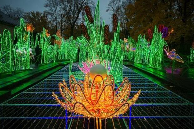 Królewski Ogród Światła już otwarty !  (zdjęcia)
