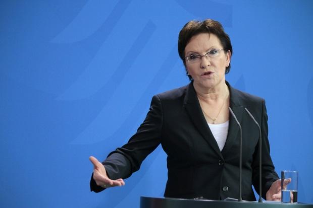 Ewa Kopacz została wiceszefową Europejskiej Partii Ludowej